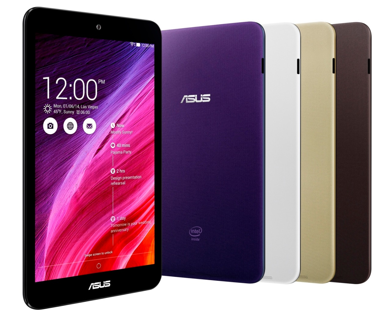 how to open asus tablet