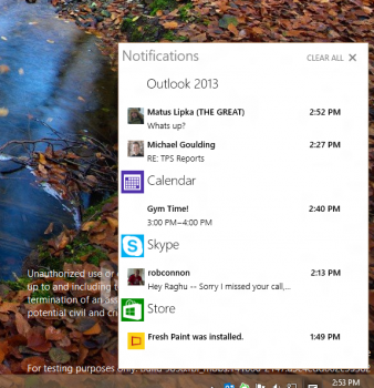 Shades of Windows Phone will be coming to Windows 10