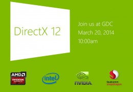 Microsoft will be unveiling DirectX 12 to developers at GDC this month