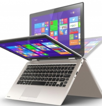 Meet Toshiba's Radius 11 covertible notebook